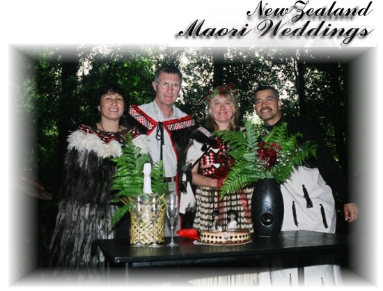 New Zealand Maori Weddings